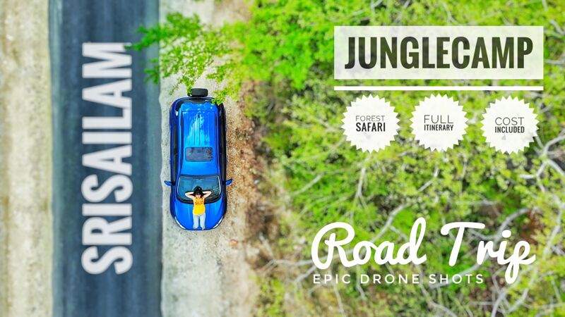Hyderabad To Srisailam Road Trip-social media share image