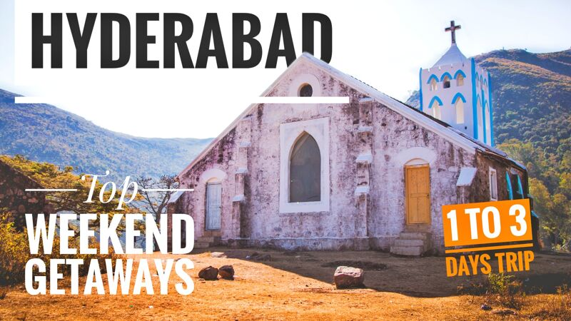 Best Places to Visit Near Hyderabad - Weekend Getaways-social media share image
