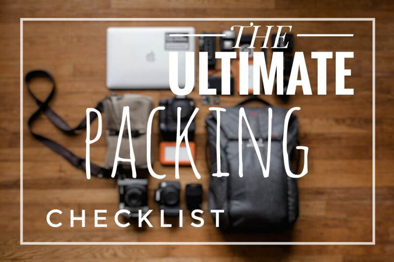 The Ultimate Packing Guide & Checklist-social media share image