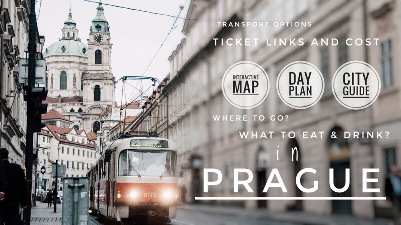 One Day In Prague - Travel Guide and Plan-social media share image