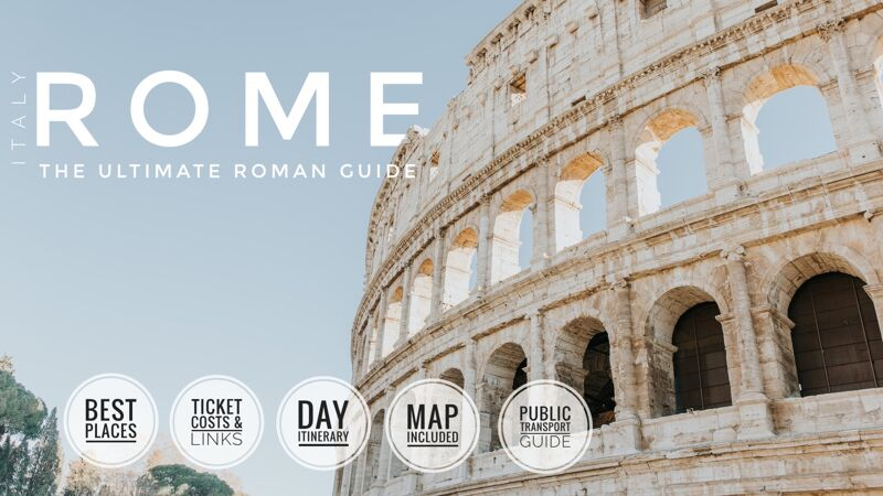Top 10 Places To Visit In Rome-social media share image