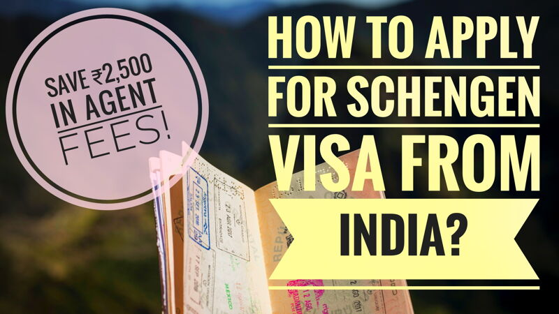 How to apply for Schengen Visa from India-social media share image