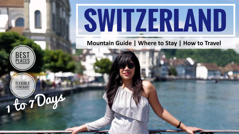 Best of Switzerland In A Week - Flexible Itinerary-social media share image