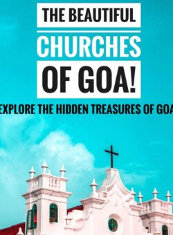 churches of goa